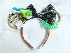 Tiki bird ears