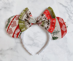 Nordic Christmas sweater Ears