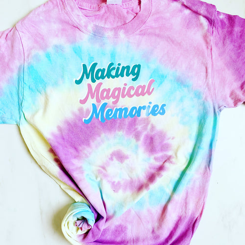 Tie-Dye Magical Memories | Tee