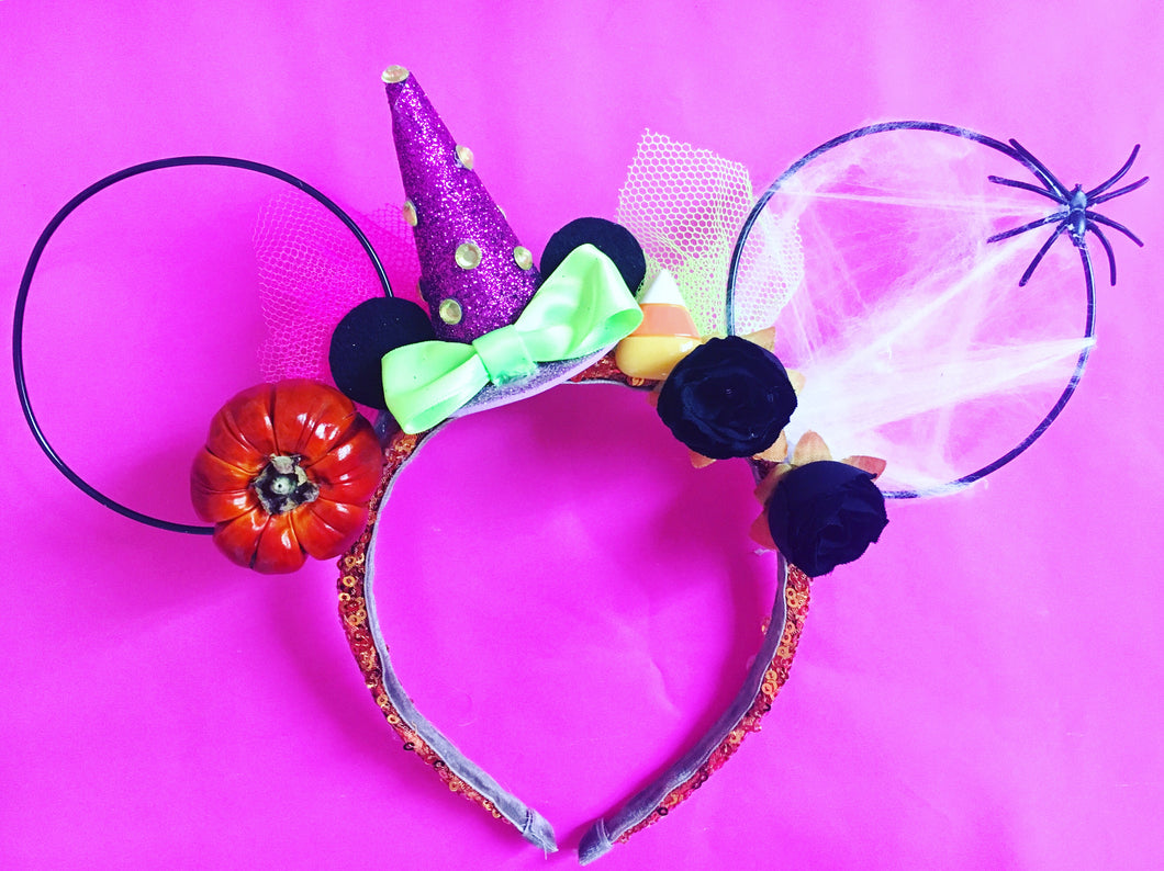 Witchy Trick or Treat Ears
