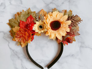 Autumn Fairy Crown (ready to ship)