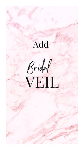 Add on - Standard Bridal Veil