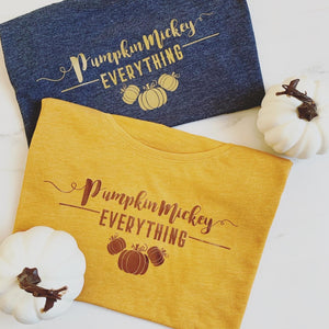 Pumpkin Mickey Everything | Mustard Tee