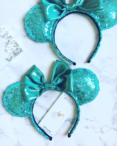Tiffany Teal Ears