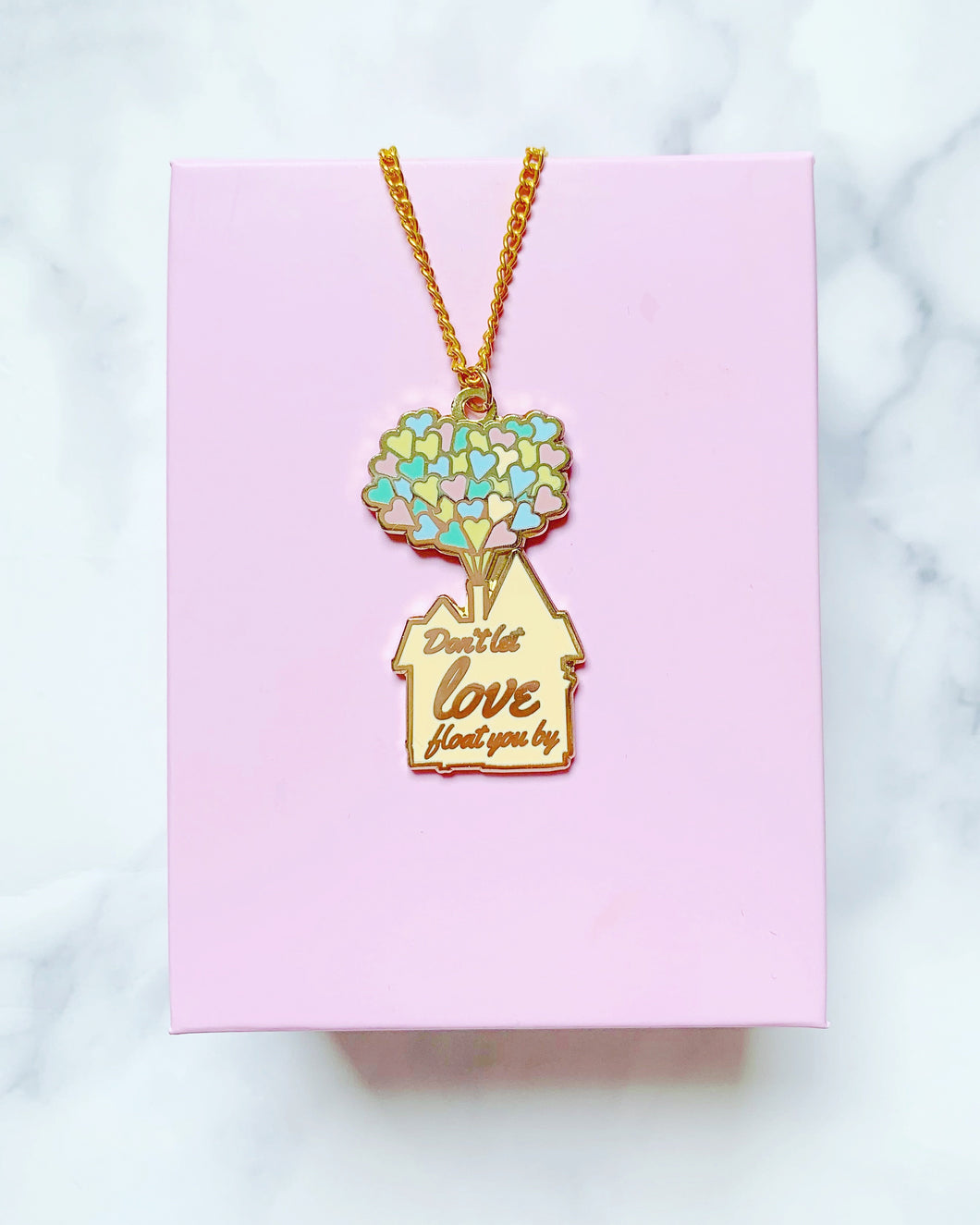 Balloon Love Necklace