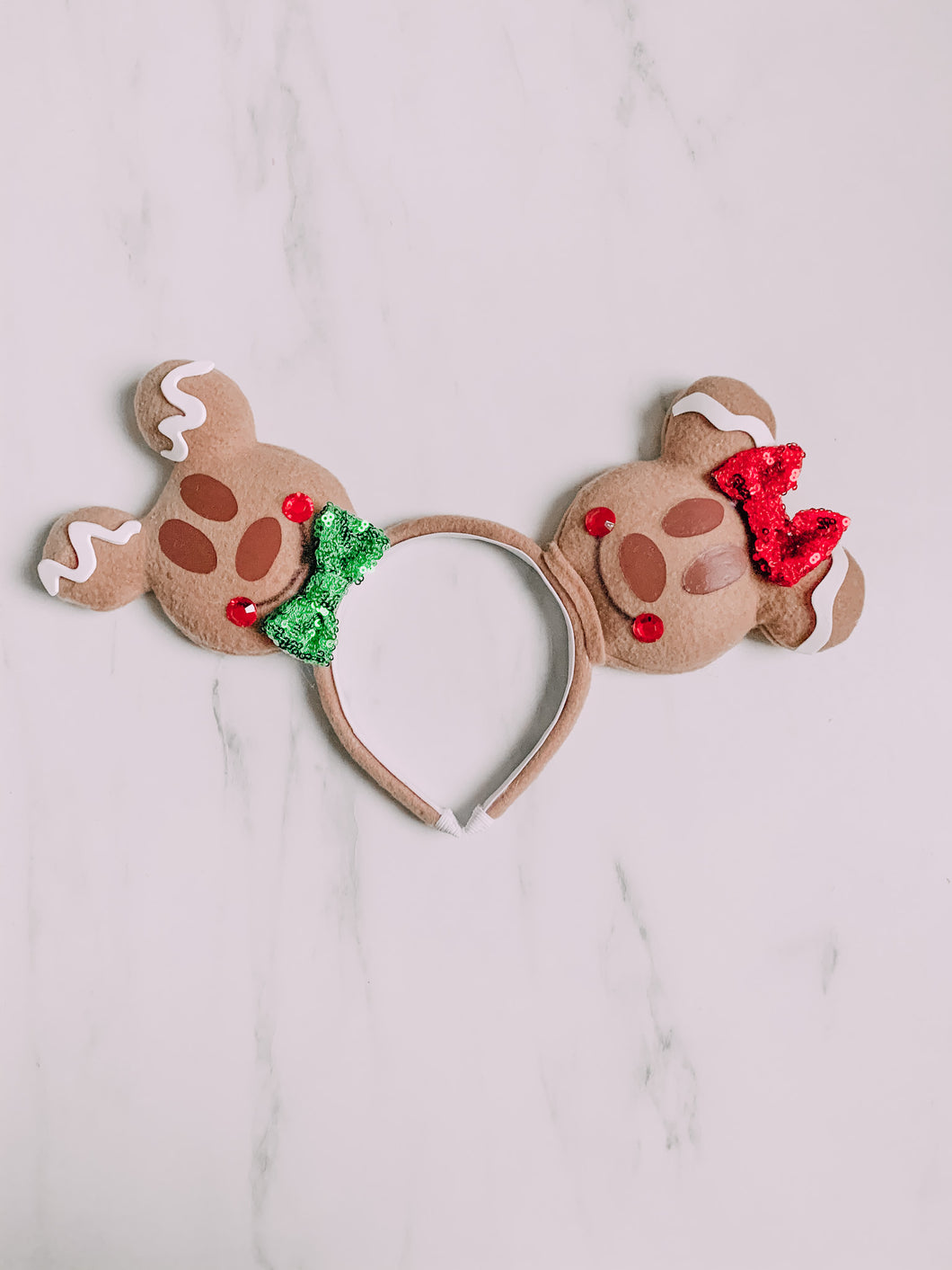 Gingerbread treat ears