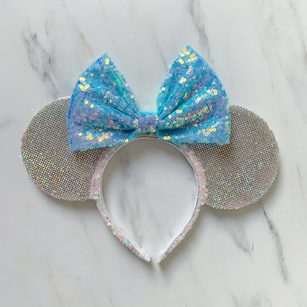 Diamond blue castle ears