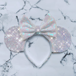 Luxury Diamond -Pearl Ears