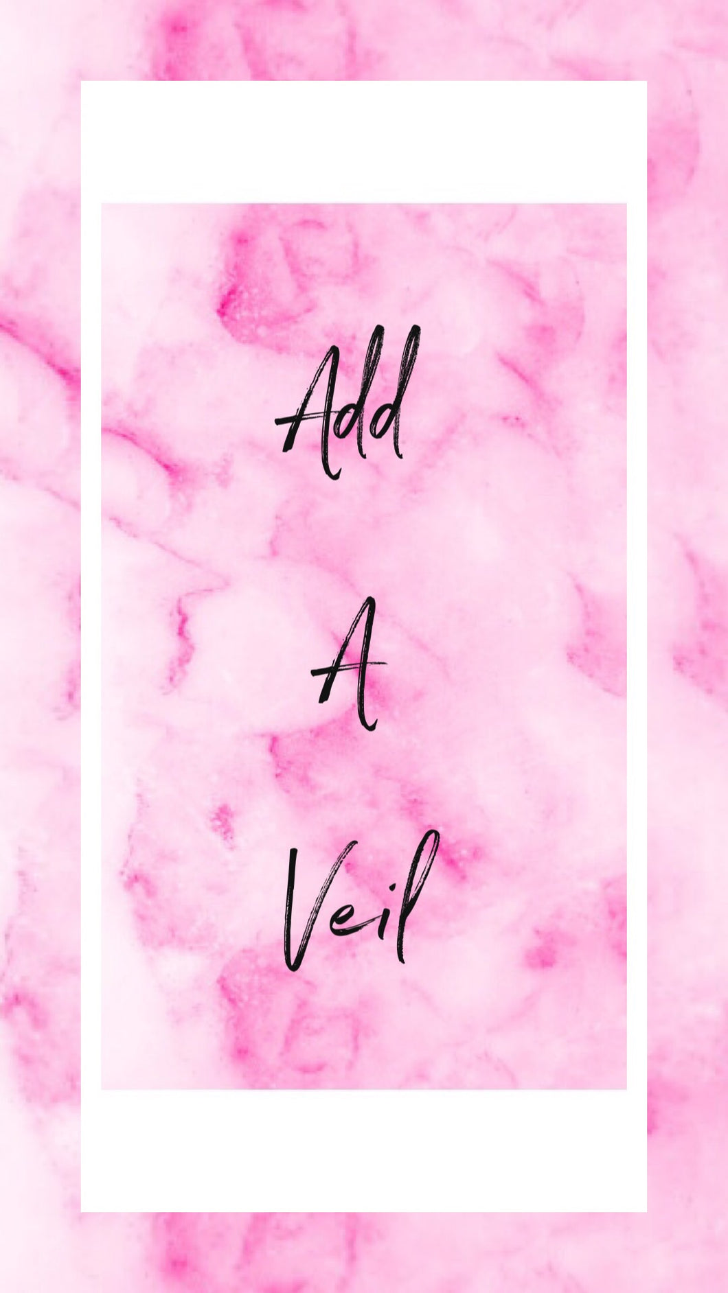 Add on - funky Veil