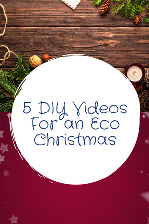 5 DIY Videos for an Eco Holiday