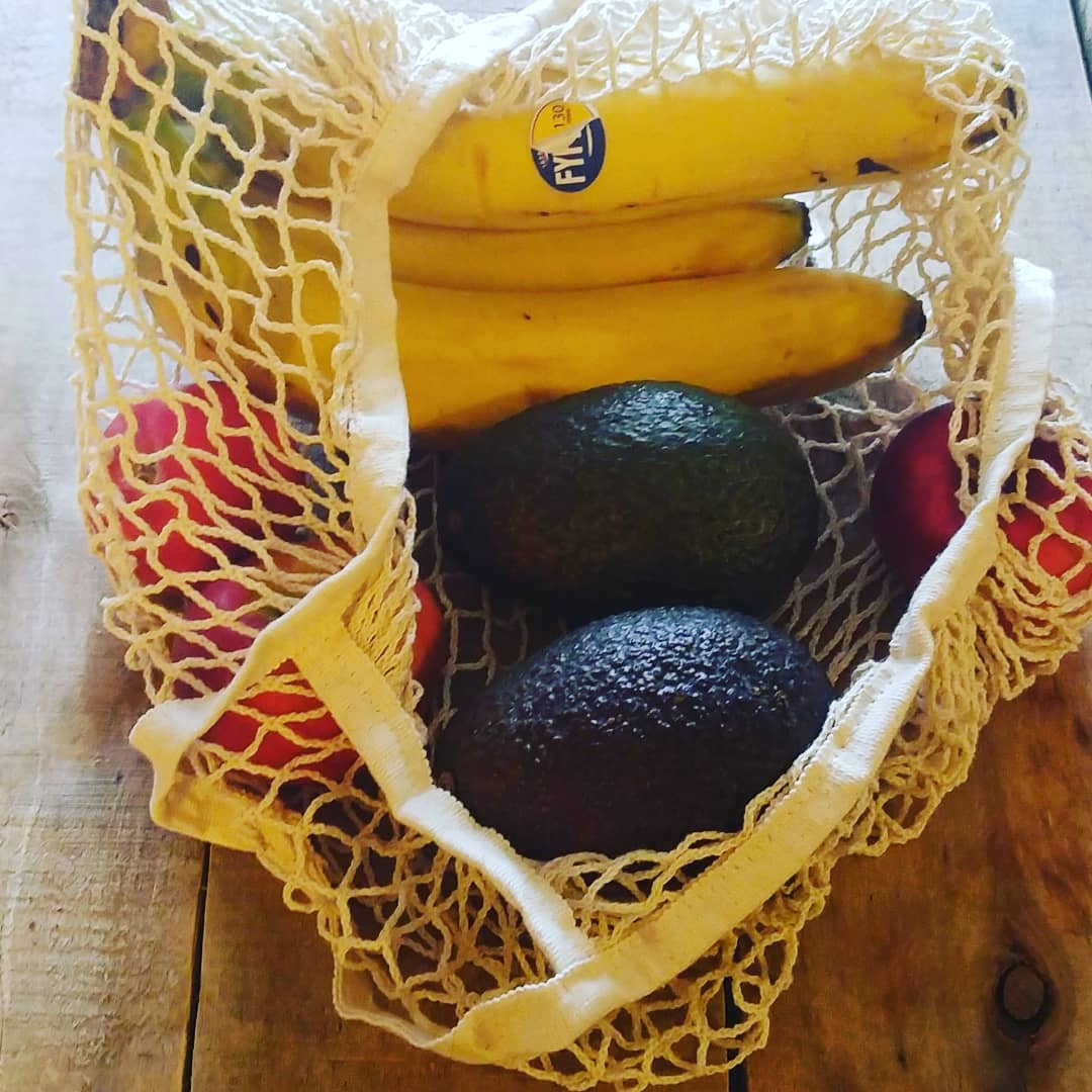 Knitted Produce Bag