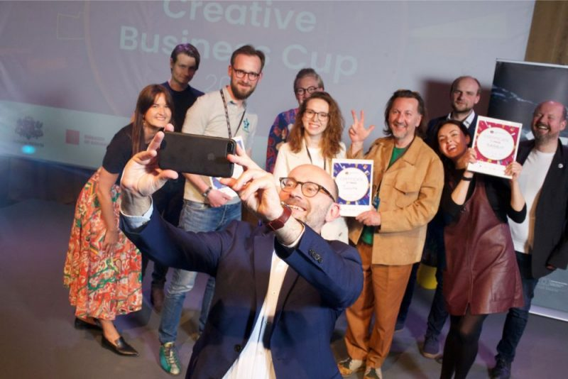 TOOCHE won 2nd place in Creative Business Cup