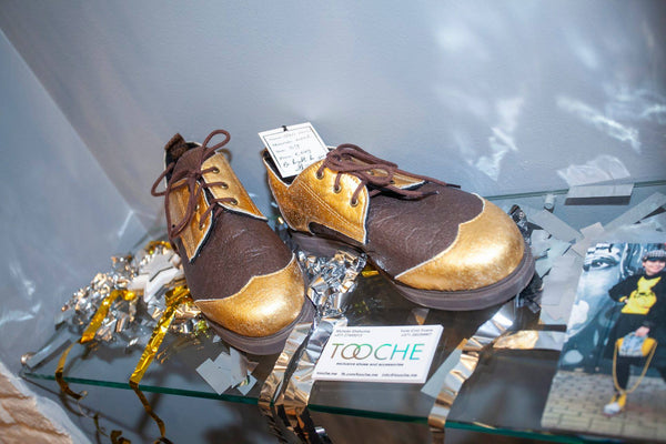 TOOCHE chocolate bar pineapple shoes