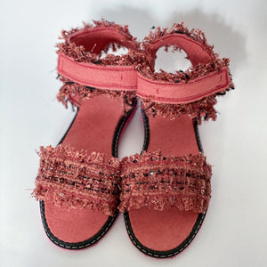 DUSTY PINK vegan sandals (size 36)