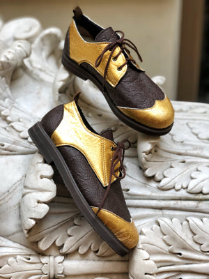GOLD CHOCOLATE BAR shoes