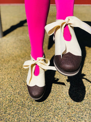 MILK RIBBON shoes