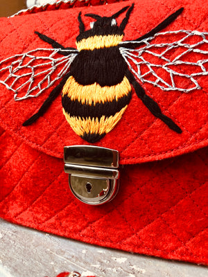 BEE YOU BAG HANDMADE EMBROIDERY