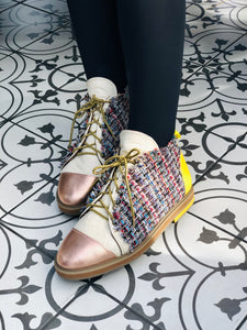 SORBET TWEED shoes