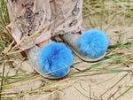 FAIRYTALE POMPOM slippers (size 40)