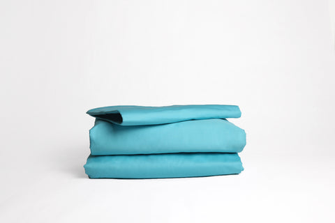 Good and Bed Turquoise Bed Sheet