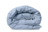 Good & Bed | 600 Thread Count Egyptian Cotton Sateen Duvet Cover | Blue Oasis