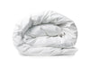 Good & Bed | 600 Thread Count Egyptian Cotton Sateen Duvet Cover | Cloud White
