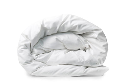 Good & Bed | Long Staple Egyptian Cotton Duvet Cover | Cloud White