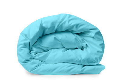 Good & Bed | Long Staple Egyptian Cotton Duvet Cover | Turquoise & Caicos