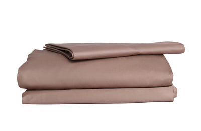 Good & Bed | 600 Thread Count Long Staple Egyptian Cotton Sateen Weave Sheet Set | Bronzed Champagne