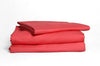 Good & Bed | 300 Thread Count Egyptian Cotton Sateen Weave Sheet Set | Palm Beach Coral