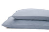 Good & Bed | 600 Thread Count Egyptian Cotton Sateen Weave Pillowcase Set | Blue Oasis