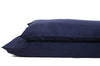 Good & Bed | Long Staple Egyptian Cotton Sateen Weave Pillowcase Set | Midnight Blue