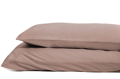 Good & Bed | 600 Thread Count Egyptian Cotton Sateen Weave Pillowcase Set | Bronzed Champagne
