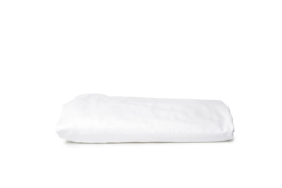 Good & Bed | Egyptian Cotton Sateen Weave Fitted Sheet | Cloud White
