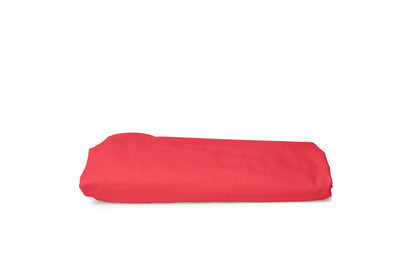 Good & Bed | Egyptian Cotton Sateen Weave Fitted Sheet | Palm Beach Coral