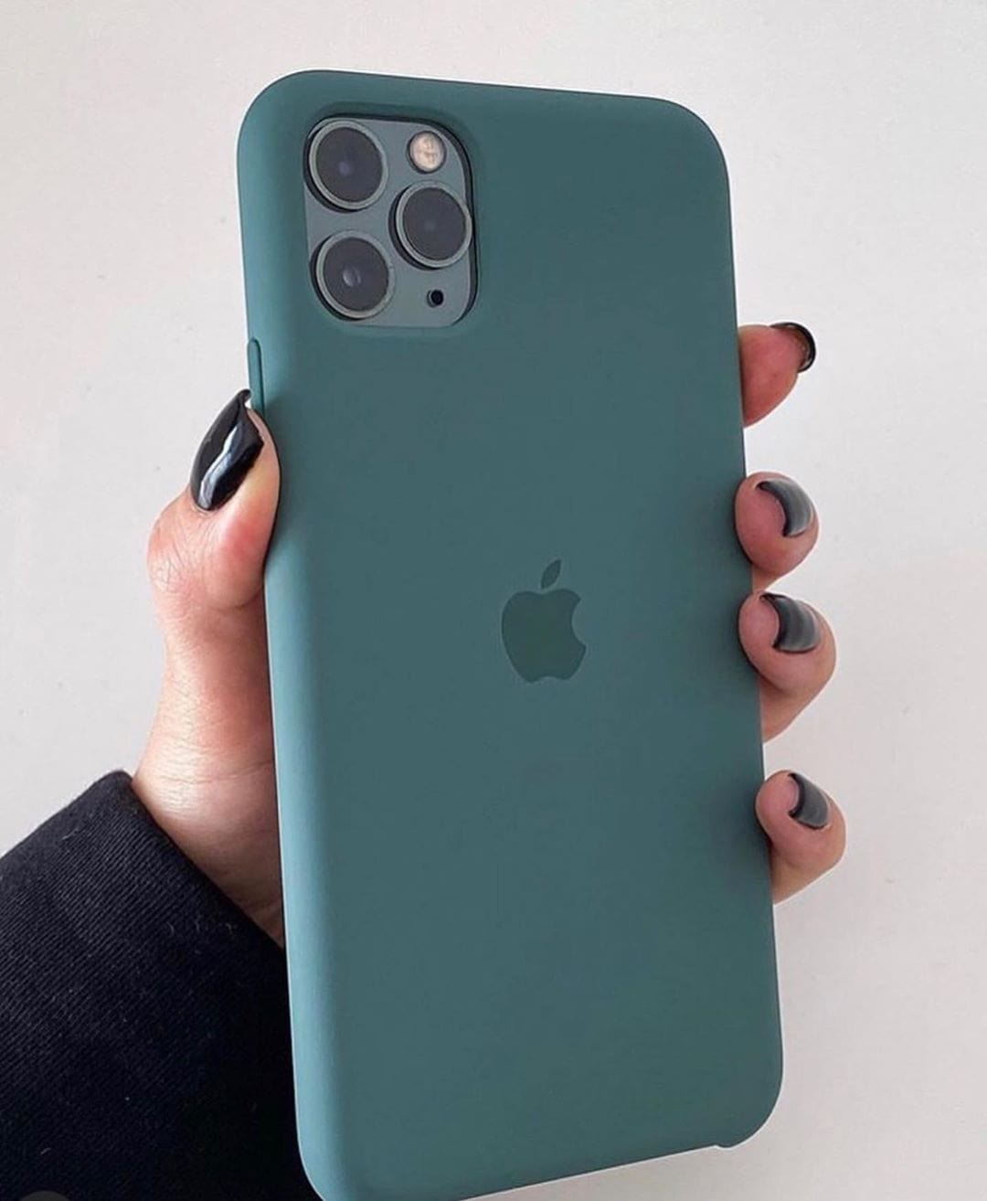 iPhone Silicone Case (Pine Green)