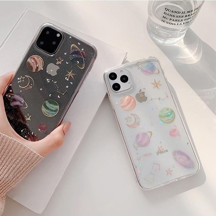 Planet Star iPhone Case