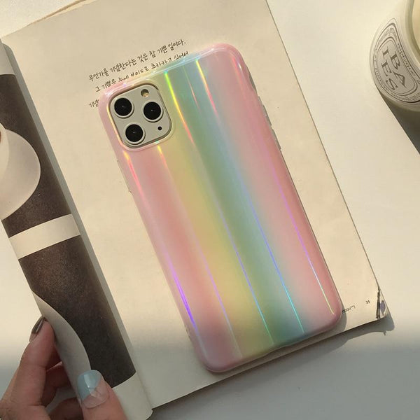 Bright Rainbow Design iPhone Case
