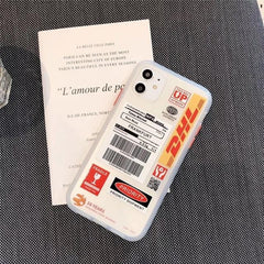 DHL Express iPhone Case