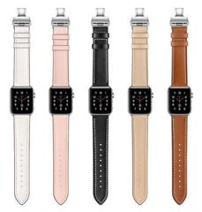 Luxury Leather Strap Apple Watch Bands