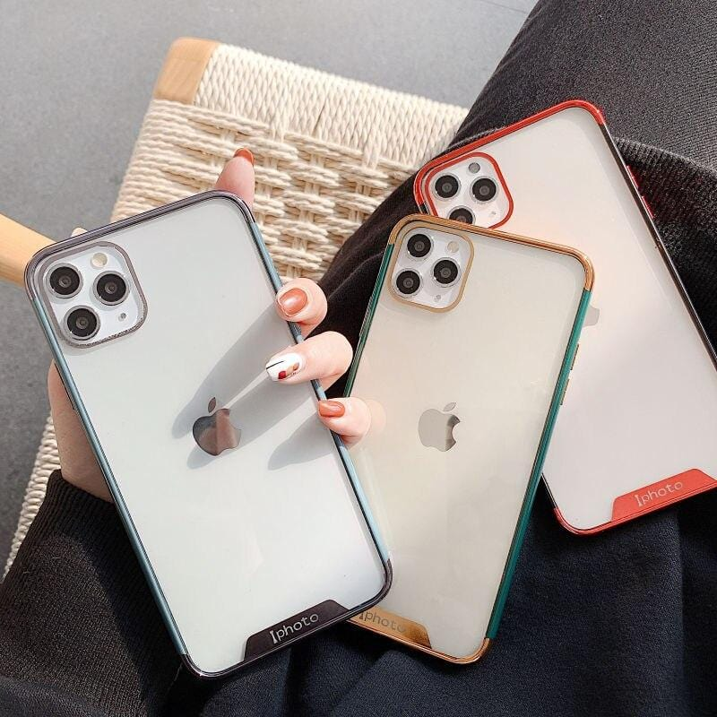 Plating Frame Bumper iPhone Case