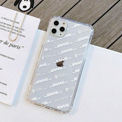 Transparent DHL Express iPhone Case