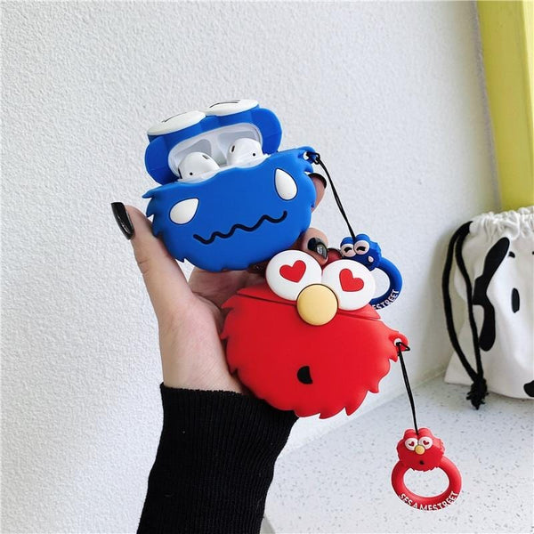 Cartoon Sesame Street AirPods Case