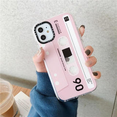 Retro Cassette Tape iPhone Case