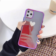 Lovely Heart Glossy iPhone Case