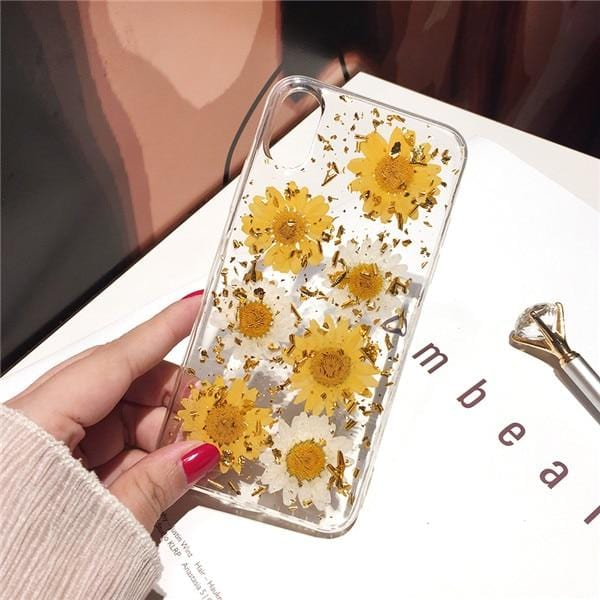 Real Dried Flower iPhone Case