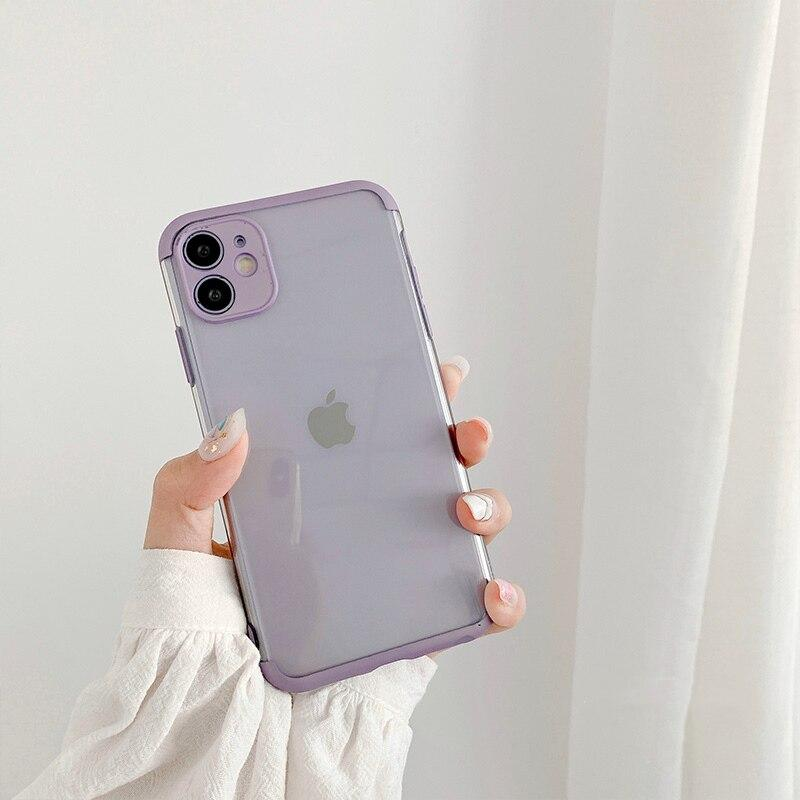 Solid Color Frame iPhone Case