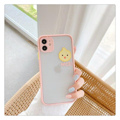 Camera Protection Cartoon Animals iPhone Case