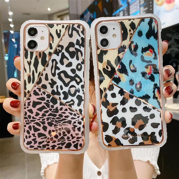 Leopard Camouflage iPhone Case