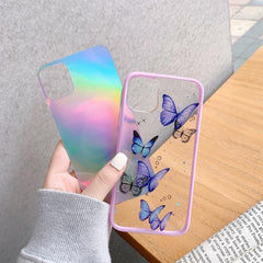 Bling Glitter Butterfly iPhone Case